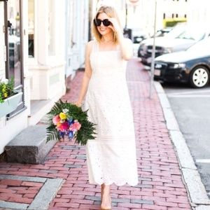 J. Crew Collection Dress in Austrian Eyelet - 8